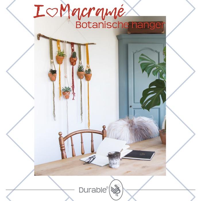 Botanische hanger - Macramé pakket