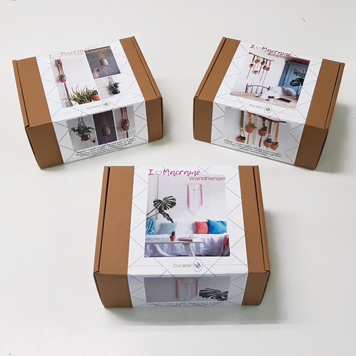 Macrame pakketten