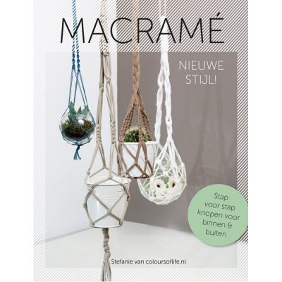 Macrame, nieuwe stijl - by Colours Of Life