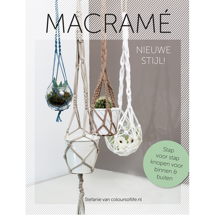 Macramé Nieuwe Stijl By Stefanie Van Coloursoflifenl