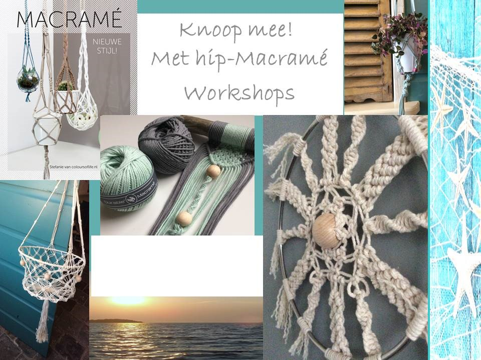 Knoop mee! Macramé workshops.